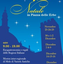 """"""" Natale in Piazza delle Erbe"""""""