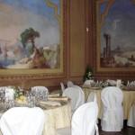 affreschi della sala del camino