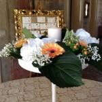 composizione di fiori e tableau