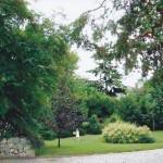 giardino anteriore parco villa manin cantarella