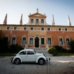 matrimonio in maggiolone a Villa Manin Cantarella